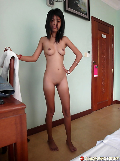 Very skinny very tiny Asian..