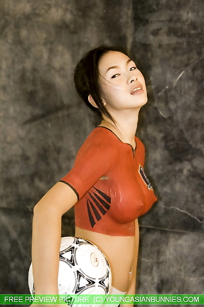 Young Asian girl with a..